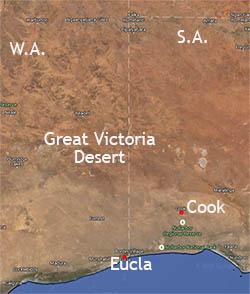 Great Victorian Desert, Australia, Eucla
