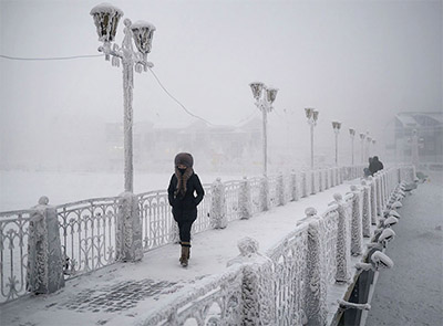 Coldest Inhabited Place on Earth, Oymyakon